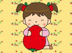 いちごと春_わんだー_400.png